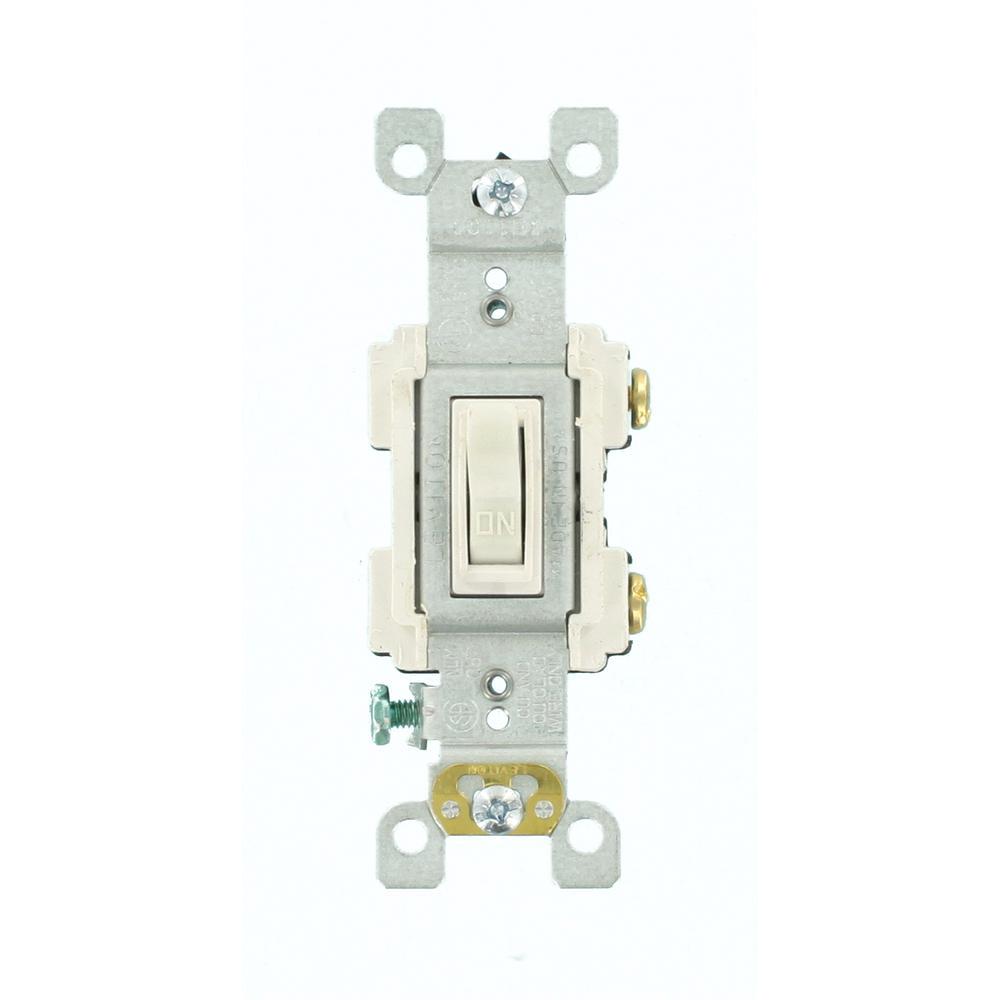 leviton 15 amp preferred switch white