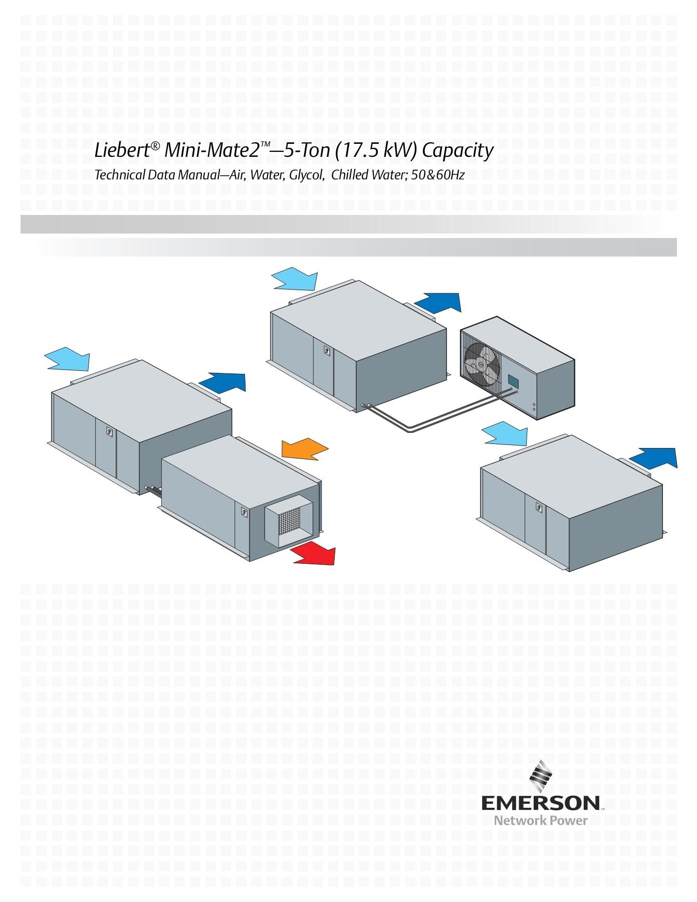 Liebert Mini Mate Wiring Diagram Liebert Mini Mate2 5 ton 17 5 Kw Capacity Pages 1 50 Text