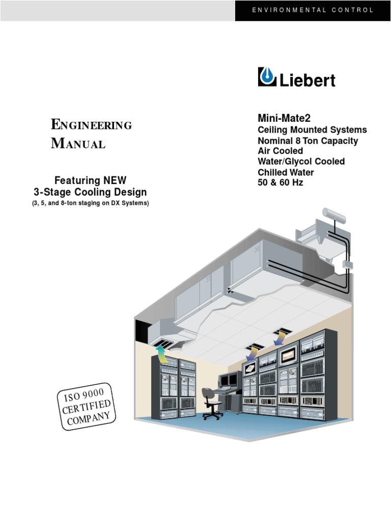 Liebert Mini Mate Wiring Diagram Liebert Mini Mate2 8ton Engineering Manual Sl 10537 Pdf Air