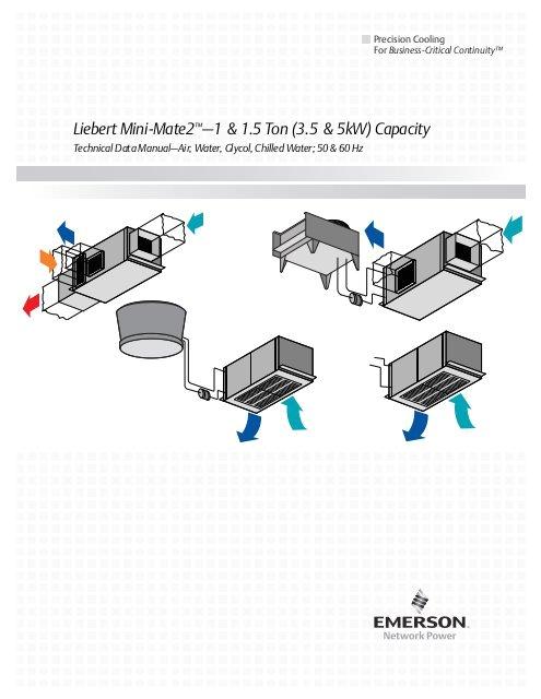 Liebert Mini Mate Wiring Diagram Liebert Mini Mate2a 1 1 5 ton 3 5 5kw Capacity Emerson