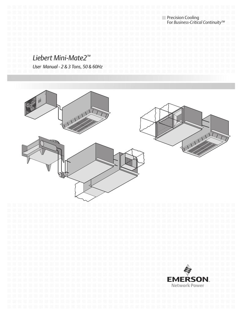 Liebert Mini Mate Wiring Diagram Liebert Mini Mate2a Emerson Network Power Manualzz Com