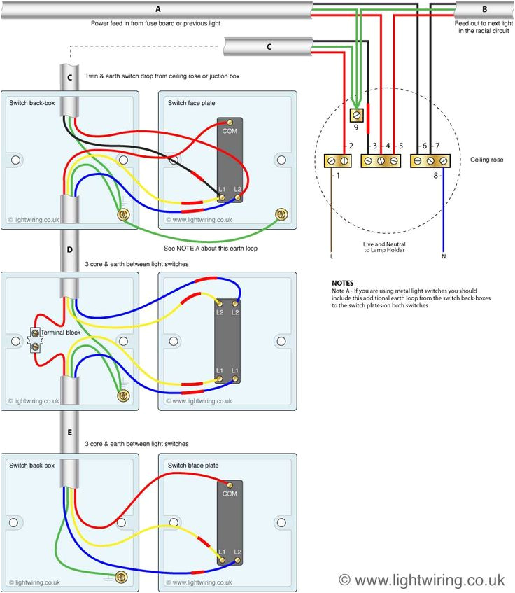 wiring a light fitting diagram best of 2 lights 2 switches diagram unique wiring a light