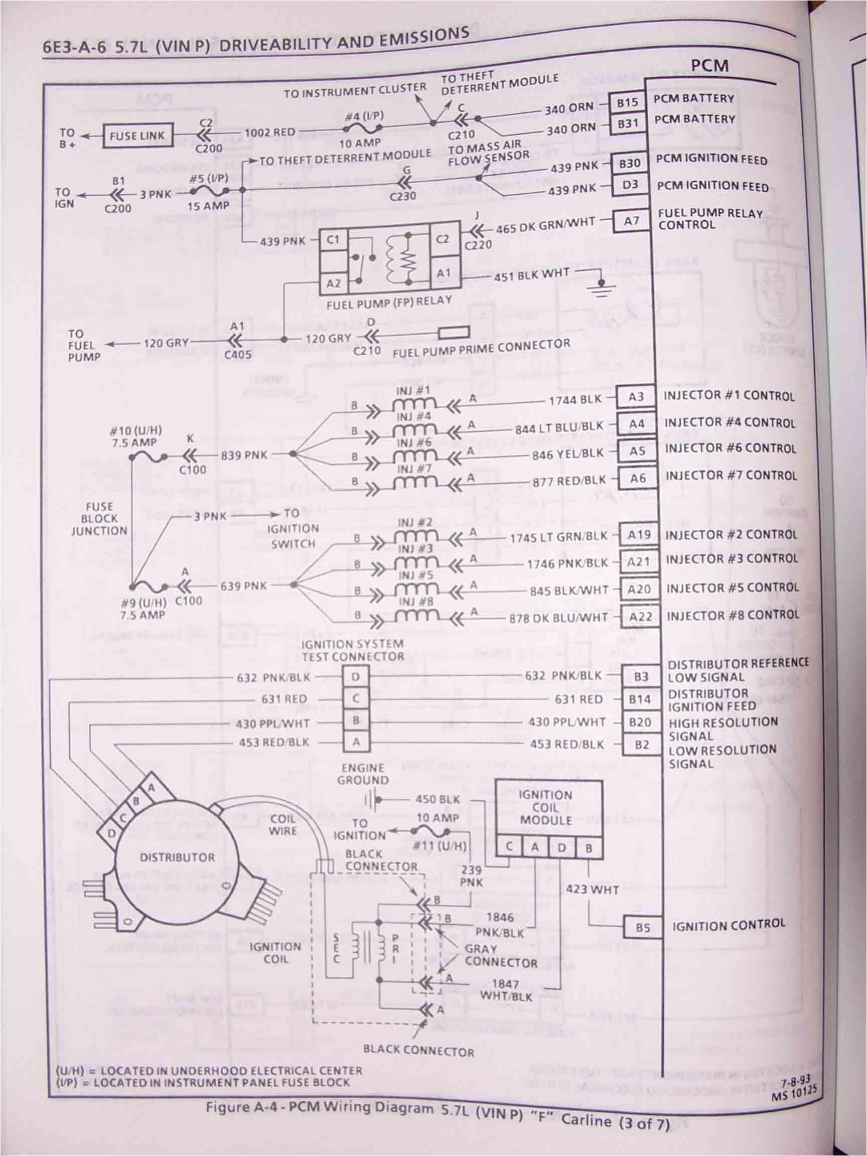 lt1 engine wiring harness diagram