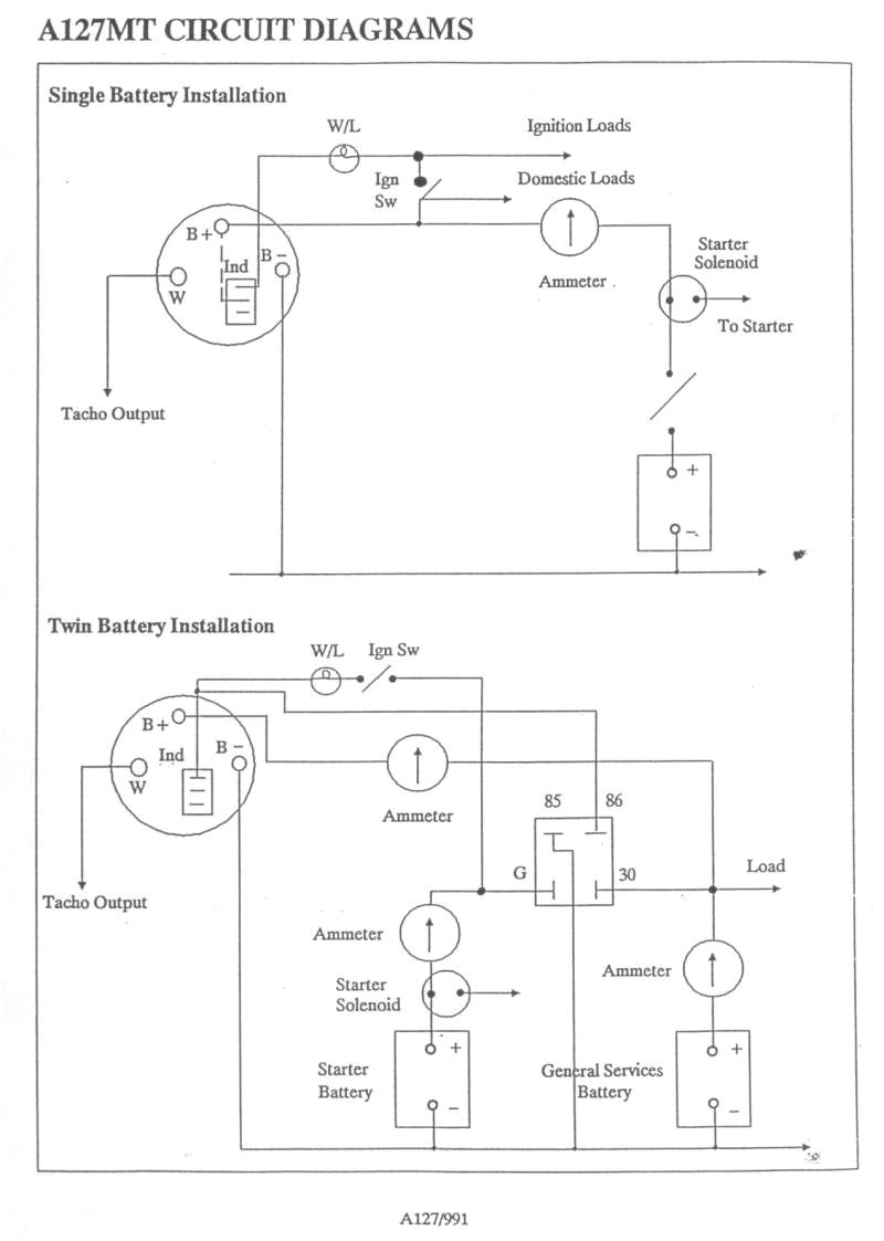creative lucas a127 alternator wiring diagram fine diy and crafts lucas alternator wiring diagram creative lucas