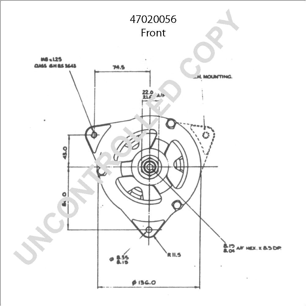 wrg 7170 lucas acr alternator wiring diagramlucas alternator wiring schematic 5