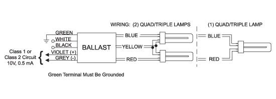lutron hi lume fdb series wiring diagram one compact fluorescent lamp wiring