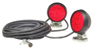 heavy duty supernovaa led magnetic towing kit
