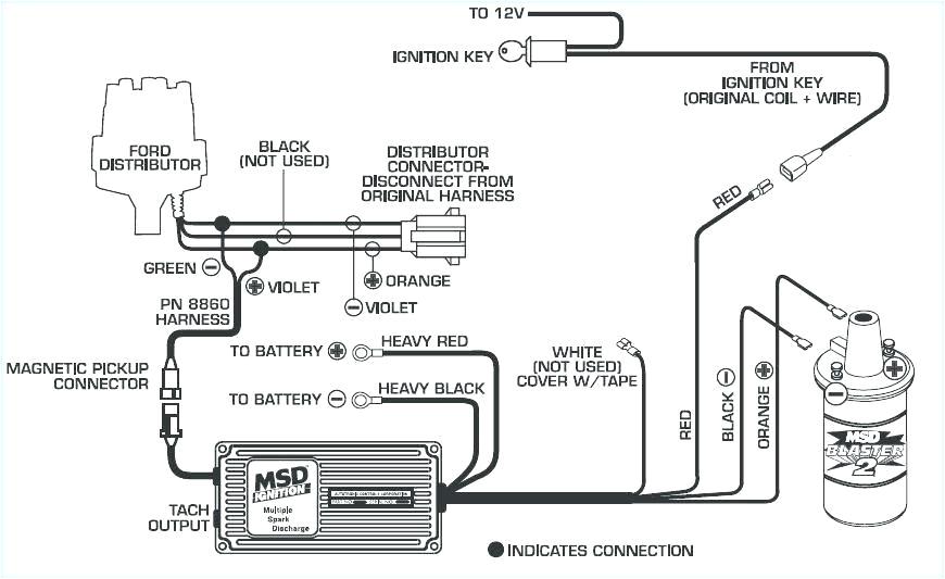 hei electronic ignition wiring diagram msd streetfire box module mallory