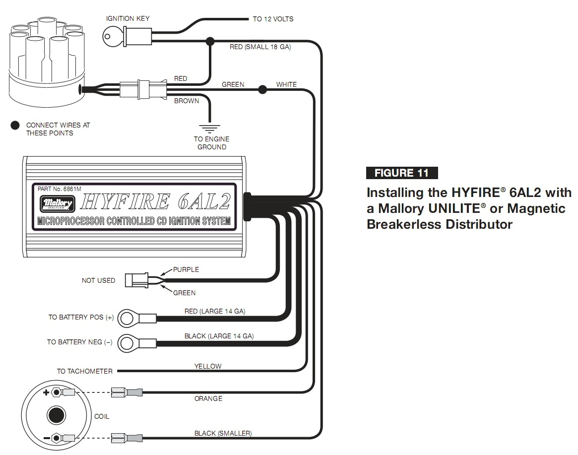 Mallory Comp 9000 Wiring Diagram Mallory Tach Wiring Wiring Diagram Expert