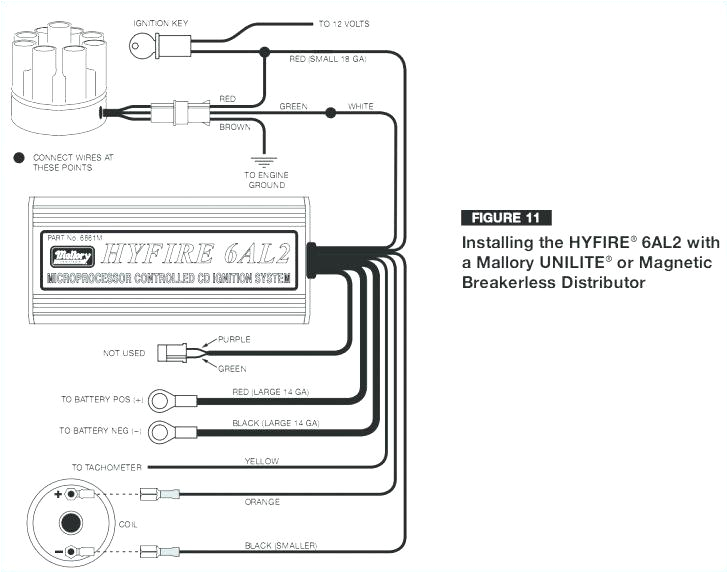 Mallory Ignition Coil Wiring Diagram Mallory 6a Ignition Wiring Diagram Wiring Diagram Article