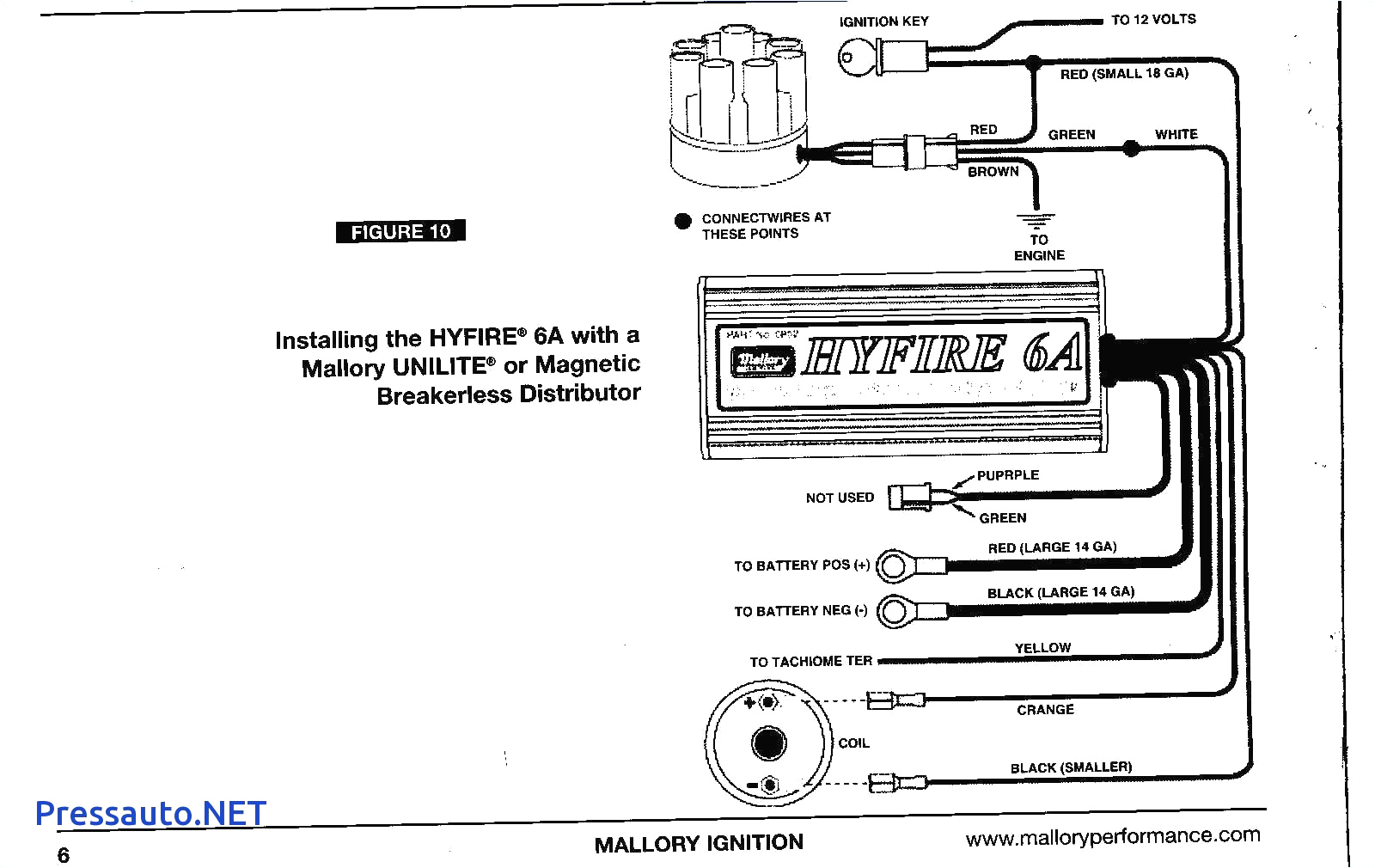 Mallory Promaster Coil Wiring Diagram Mallory Promaster Coil Wiring Diagram Beautiful Coil for Mallory