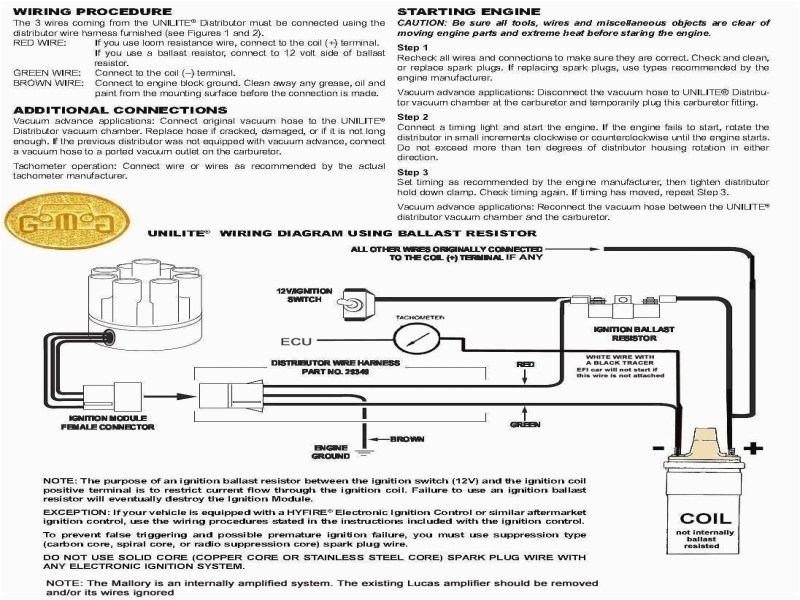 mallory promaster coil wiring diagram inspirational mallory marine ignition wiring diagram trusted wiring diagram