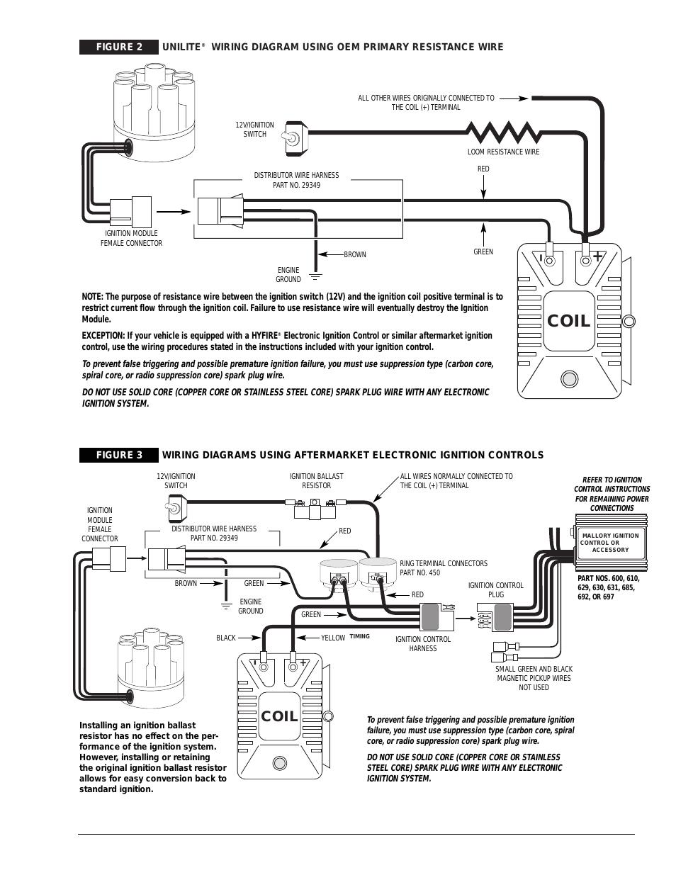 coil mallory ignition mallory unilite distributor user manualcoil mallory ignition mallory unilite distributor user manual page