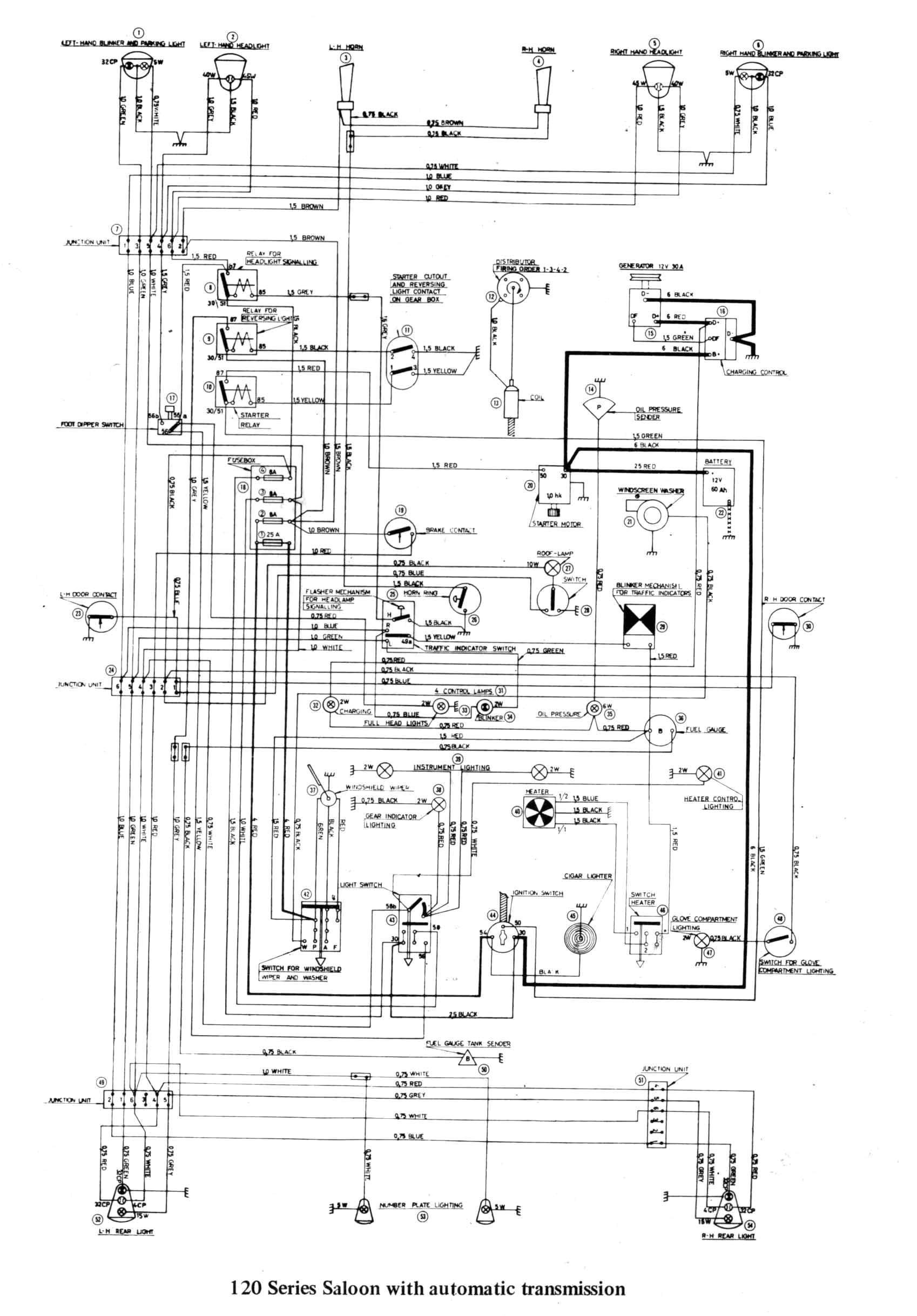 man truck electrical wiring diagram sw em od retrofitting vintage volvo refer wiring diagram 122s showy