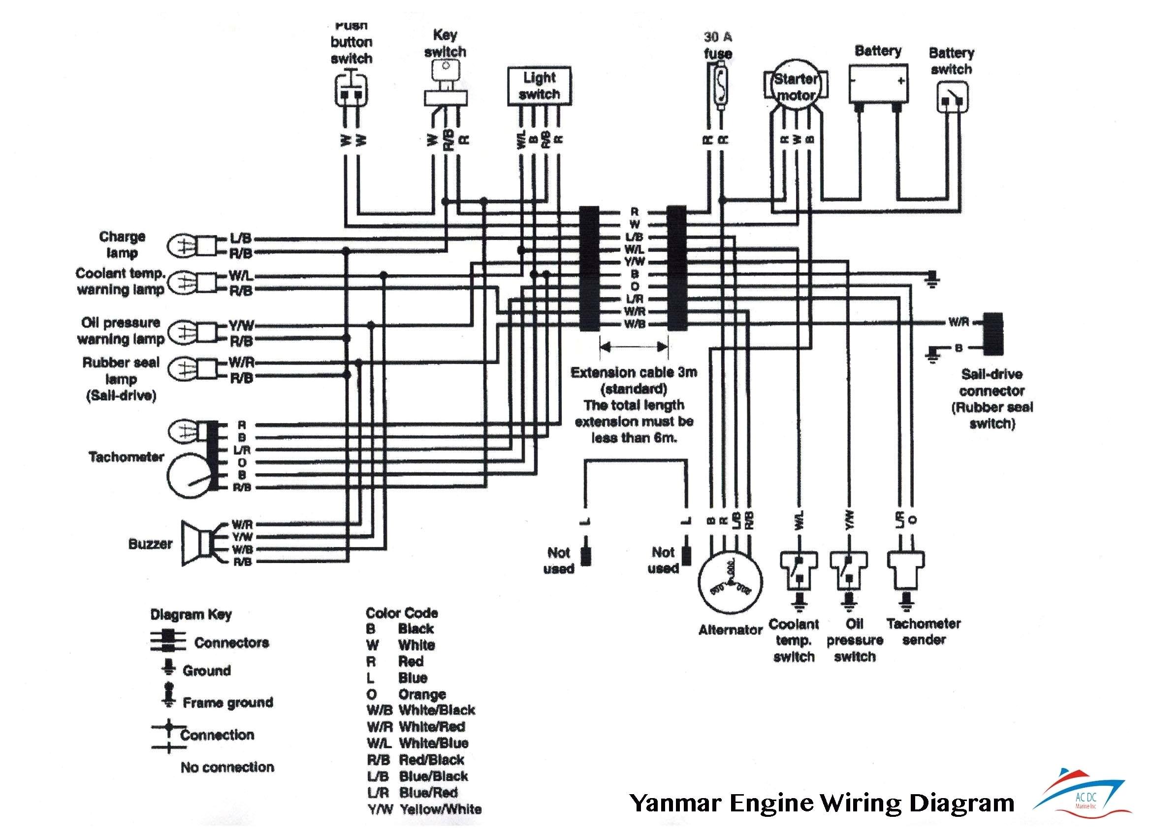 boat gauge wiring diagram for tachometer