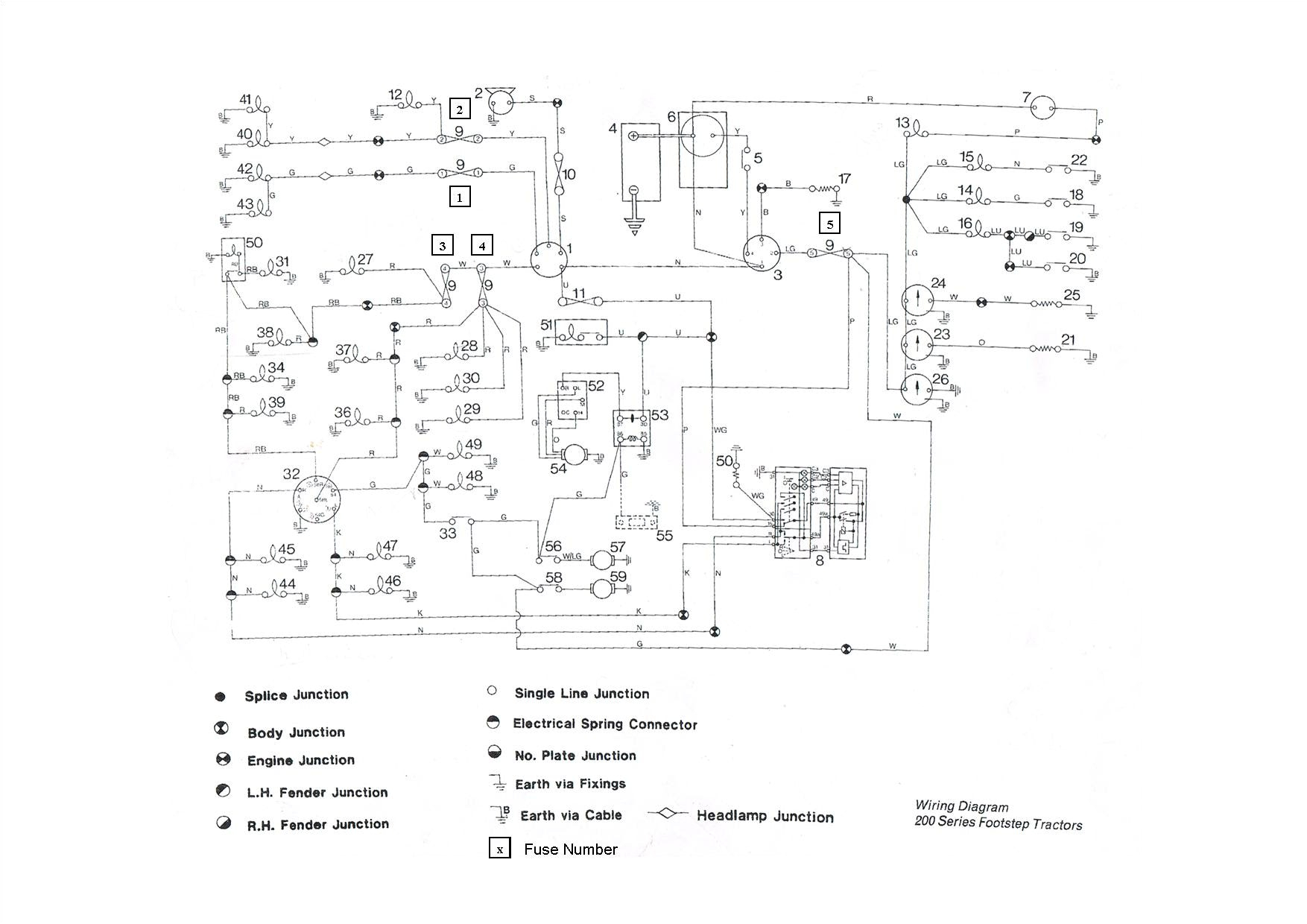 awesome massey ferguson wiring diagram at t20 240 7