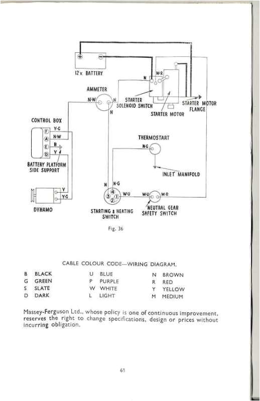 35 start switch wiring mf 35 alt conversion diagram this wiring diagram for the mf35 should
