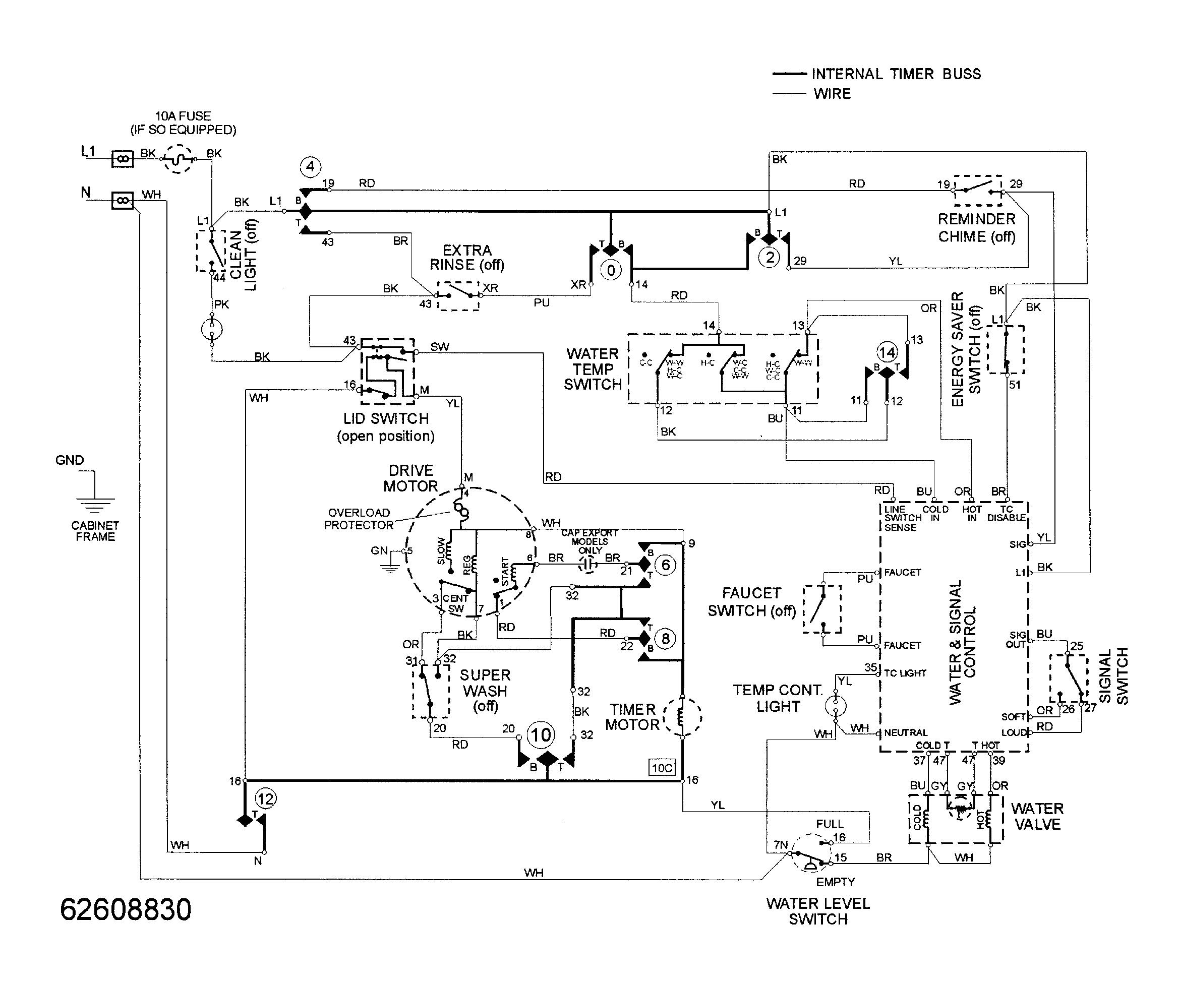maytag mav9600eww wiring information diagram