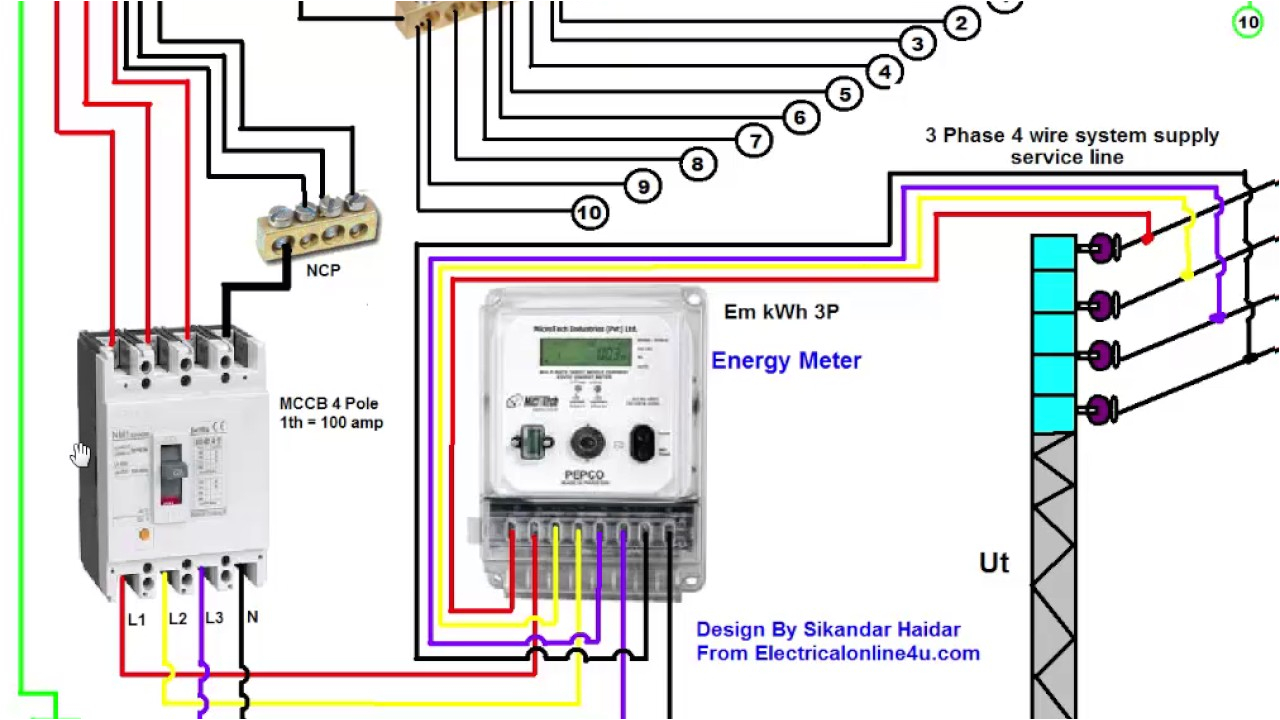 3 phase wiring installation in house 3 phase distribution board distribution board schematic