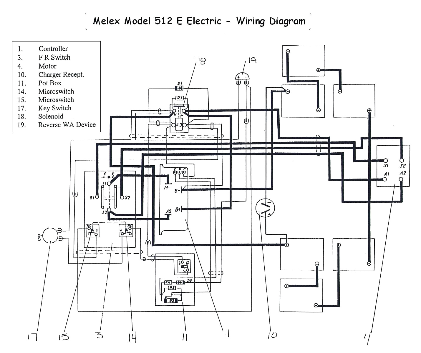 melex golf cart lights wiring diagram wiring diagrams value melex battery wiring diagram
