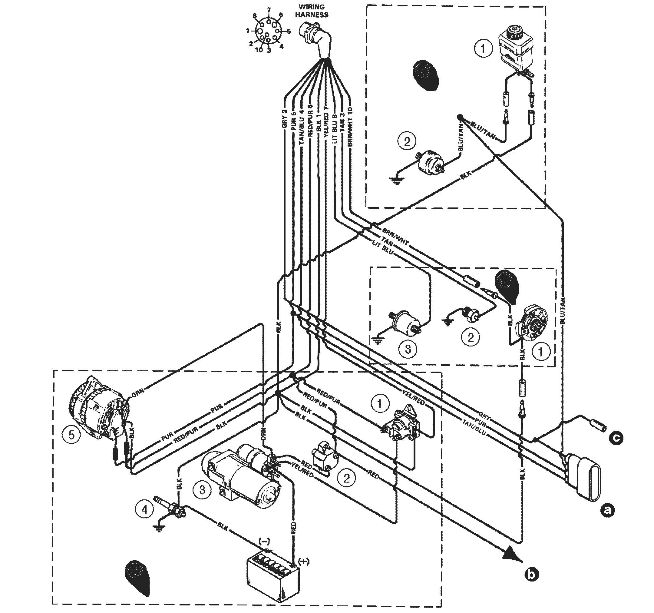 mercruiser 4 3 wiring diagram new mercruiser alternator wiring diagrams motherwill