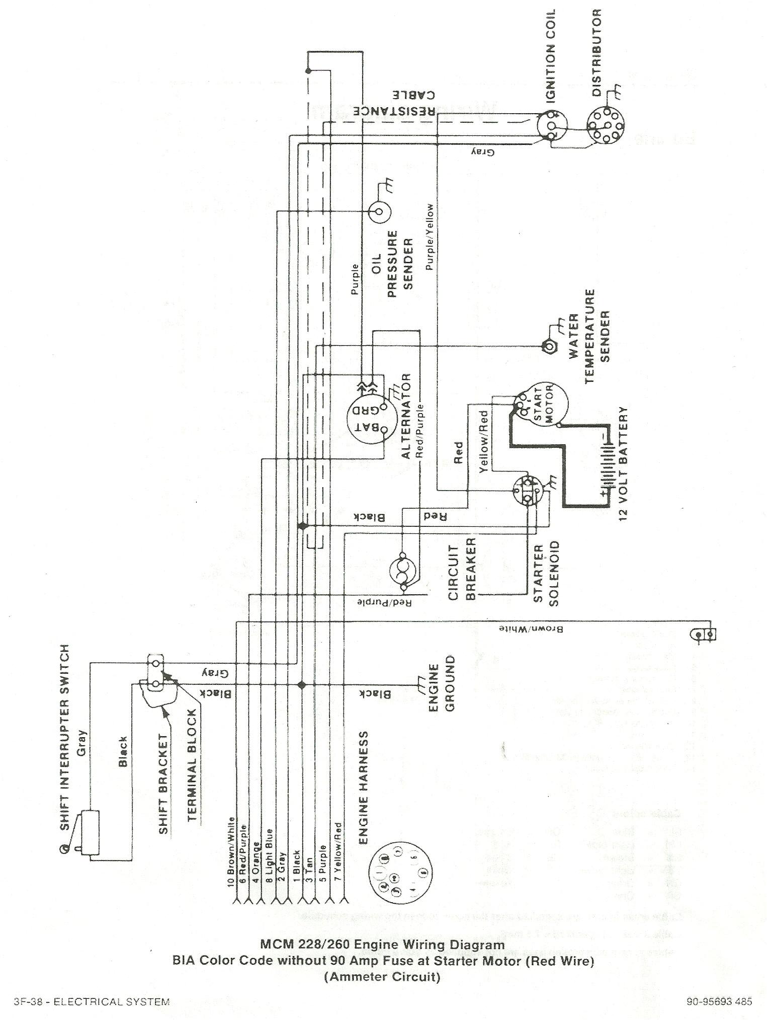 mercruiser 4 3 wiring diagram unique 165 mercruiser starter wiring diagram wiring diagram electricity
