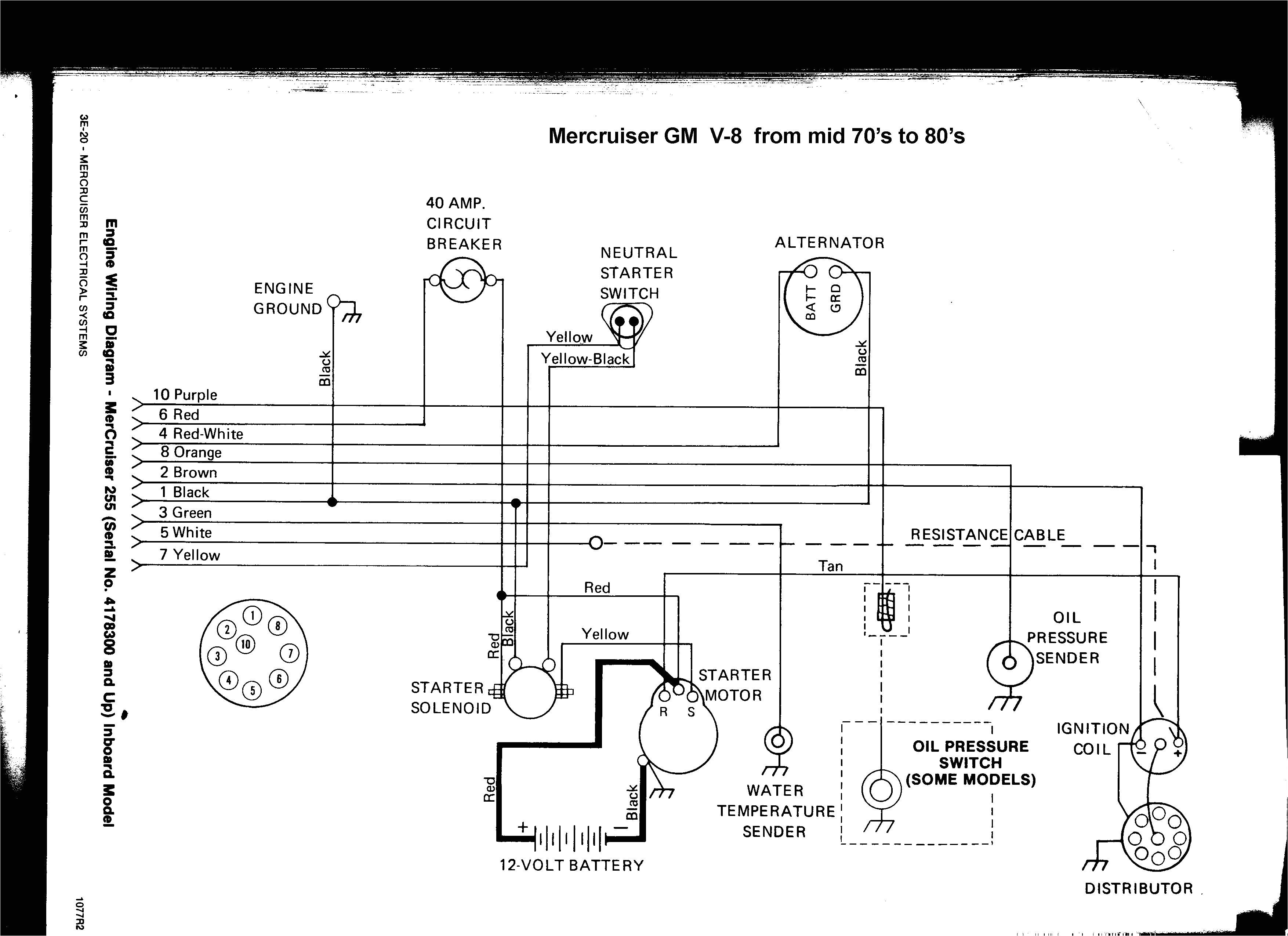 wiring diagram for mercruiser wiring diagram for you 470 mercruiser tachometer wiring