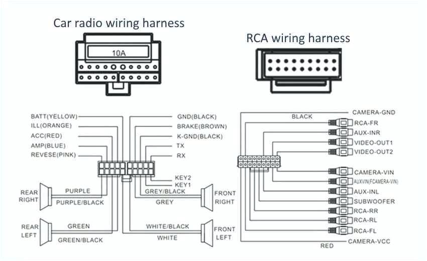 pioneer 16 pin harness wiring diagram 2005 wiring diagram