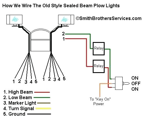 smith brothers services sealed beam plow light wiring diagram com heated led lights boss for sale install snow truck lite