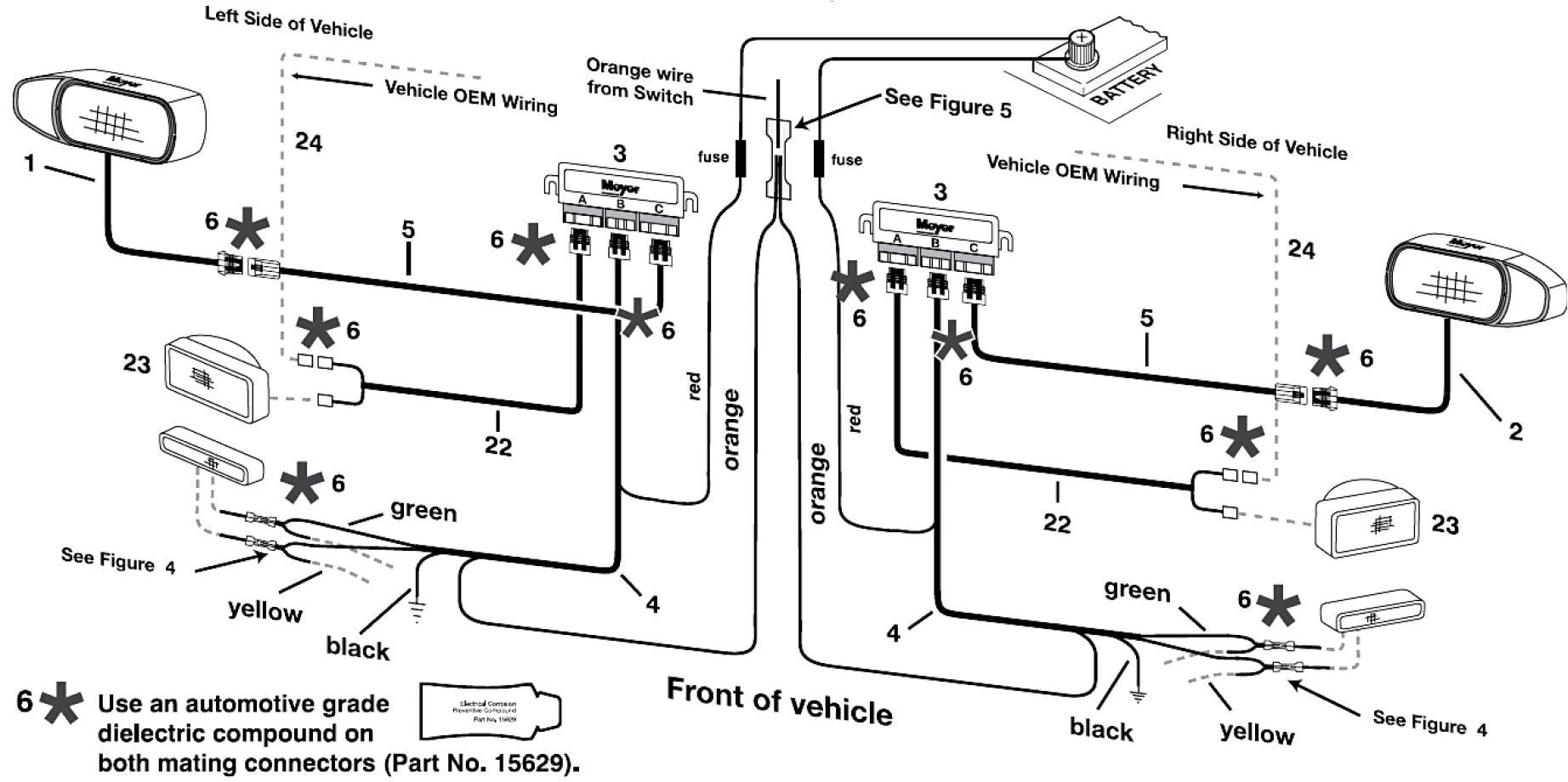 meyer snow plow wiring harness diagram schematic collection jpg