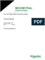 Micom P111 Wiring Diagram Micom P111enh En M V1 3 Manual Pdf Fuse Electrical Relay