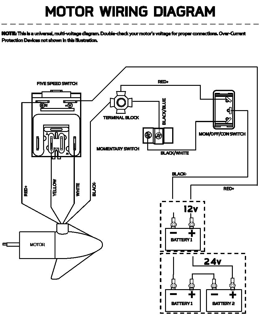 Minn Kota 5 Speed Switch Wiring Diagram Foot Wire Diagram Wiring Diagram Centre