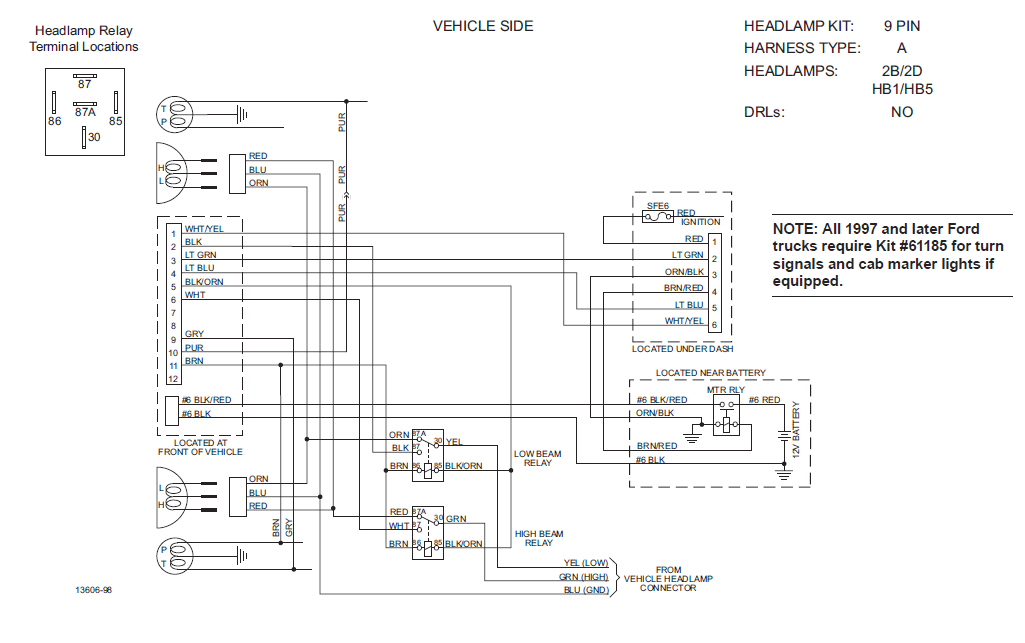 Minute Mount 2 Plow Wiring Diagram 1999 ford F 250 Fisher Plow Wiring Diagram Wiring Diagram Technic