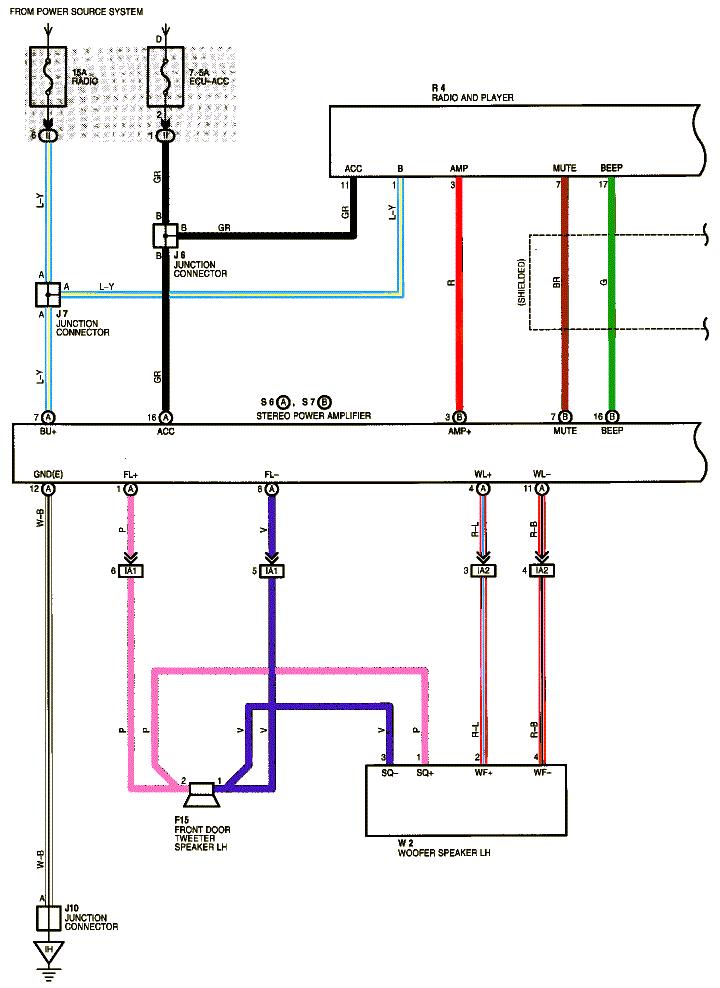 2003 mitsubishi galant radio wiring diagram