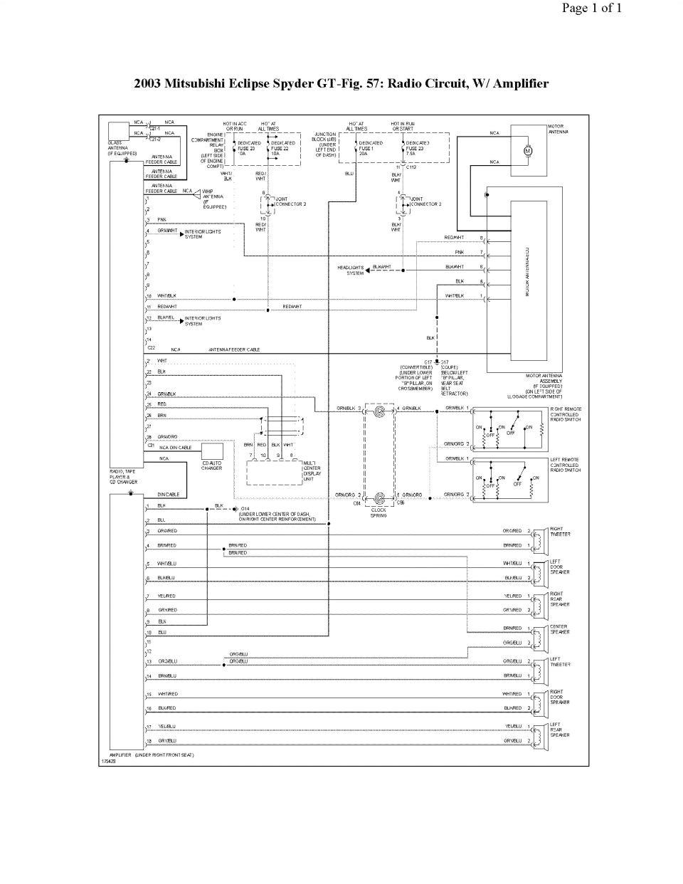 wrg 8579 2003 mitsubishi galant engine diagram2003 mitsubishi galant radio wiring diagram 17