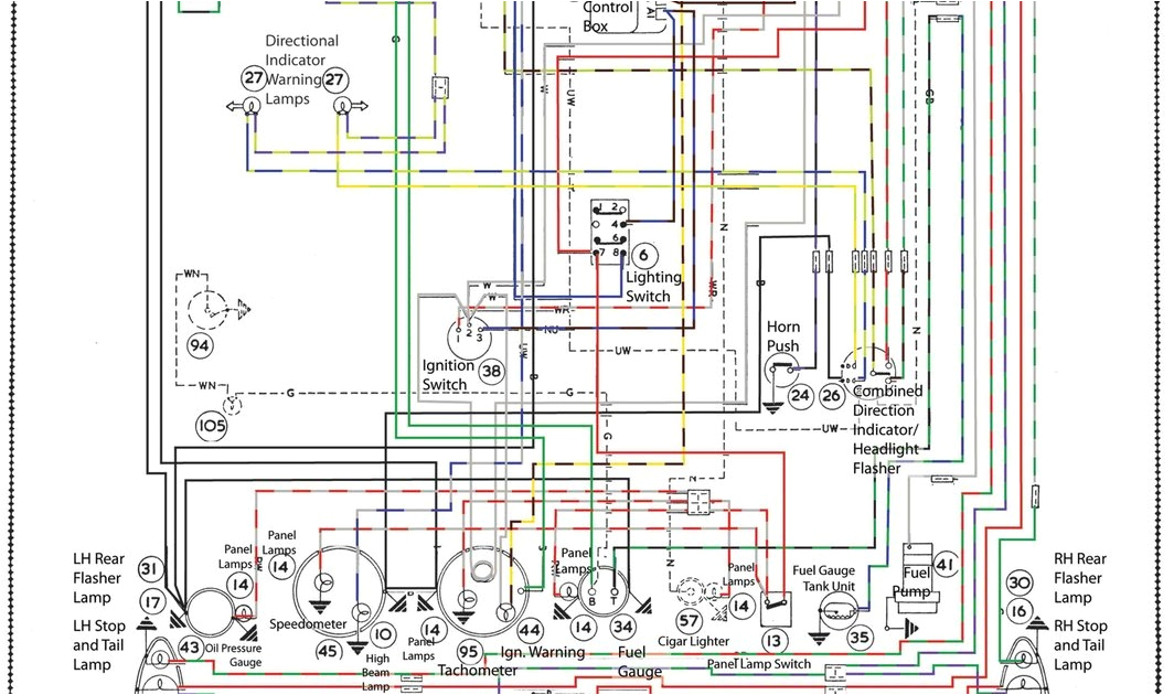 austin healey sprite wiring diagram