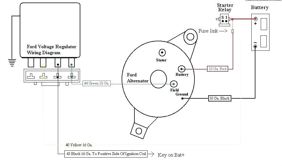 1960 ford voltage regulator wiring wiring diagram datasource 1960 ford generator wiring diagram