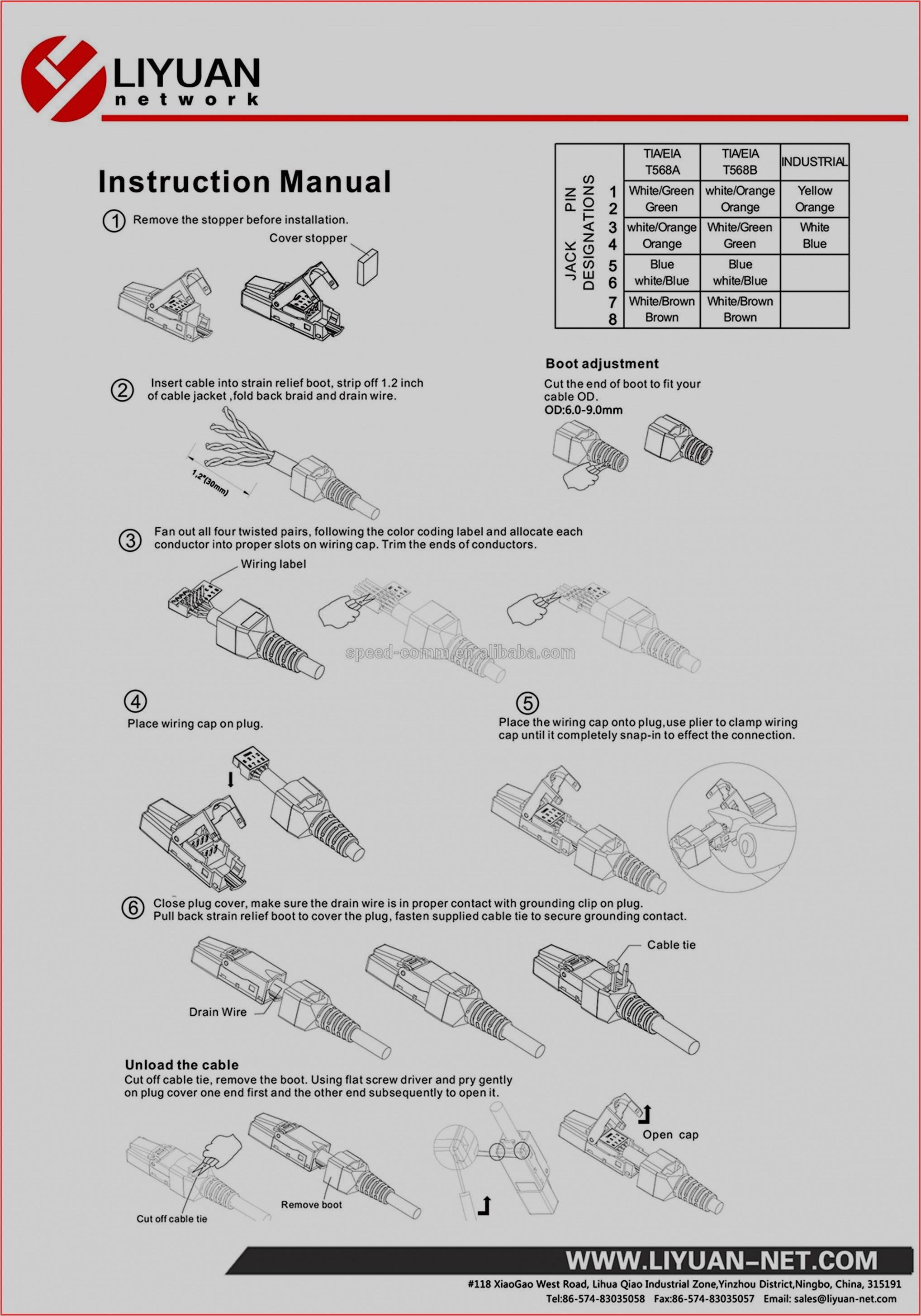 modular jack wiring diagram wiring diagram database phone jack wiring 6 contacts