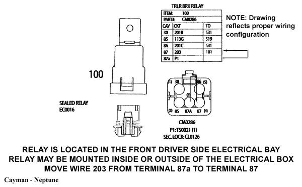 monaco rv wiring schematic monaco service bulletin 06 06 05 for monaco pre wired coachesmonaco service bulletin