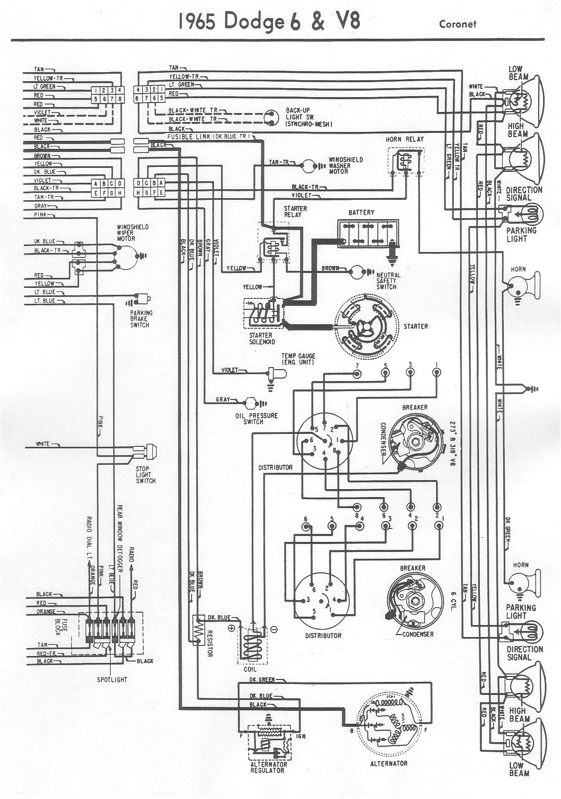 electrical diagrams for chrysler dodge and plymouth carschrysler plymouth dodge electrical diagrams