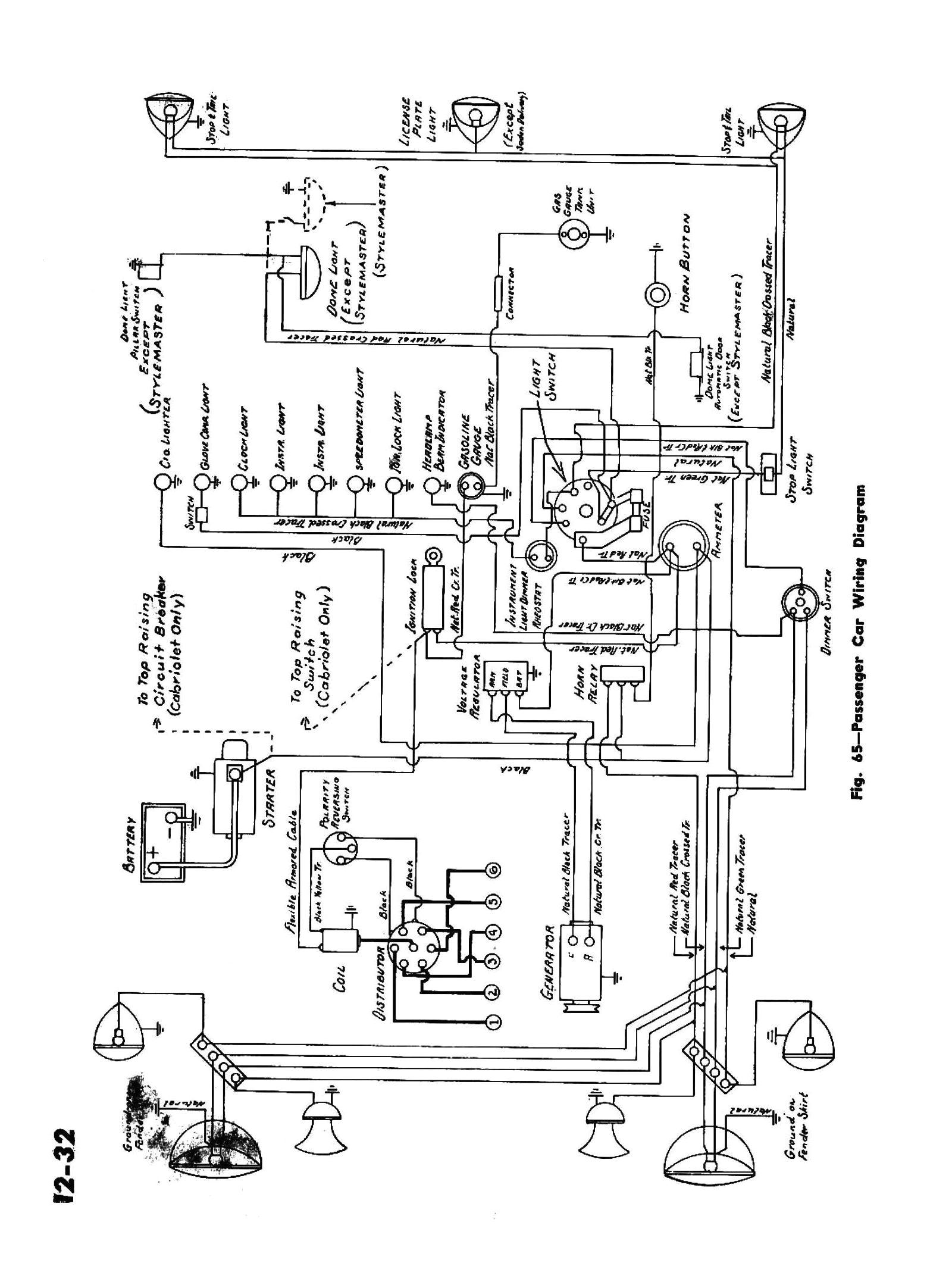 chevy wiring diagrams1945 passenger car wiring