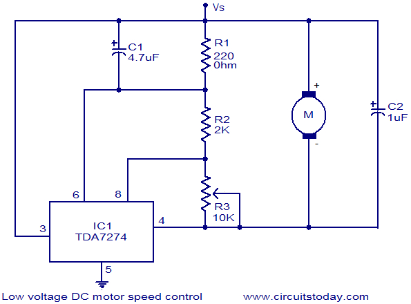 Motor Control Wiring Diagram Pdf Low Voltage Dc Motor Speed Control Circuit Electronic Circuits and