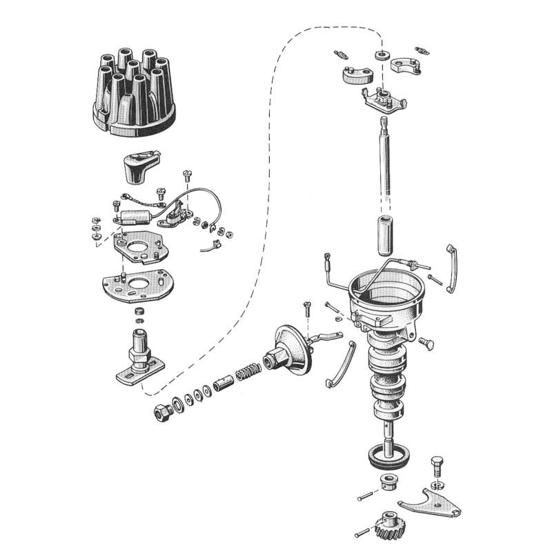 8 cylinder distributor