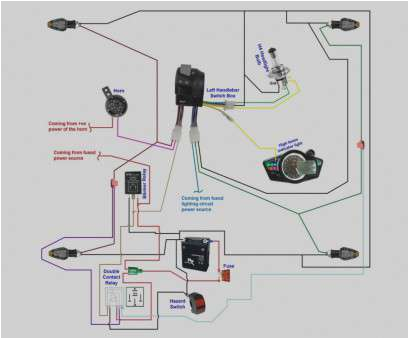 double signal switch wiring cleaver using a double contact relay to