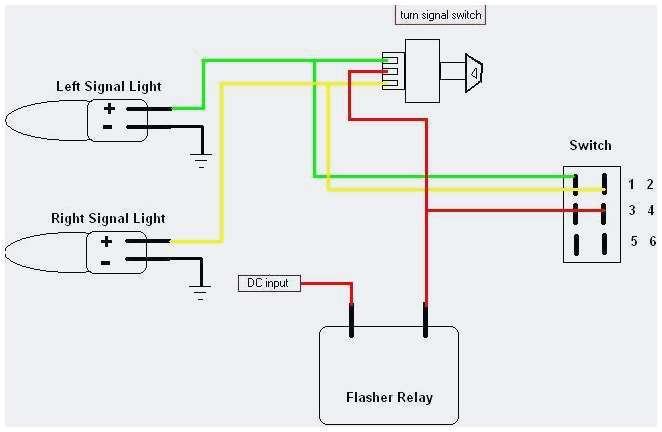 Motorcycle Hazard Lights Wiring Diagram Hazard and Turn Signal Wiring Diagram Cvfree Pacificsanitation Co