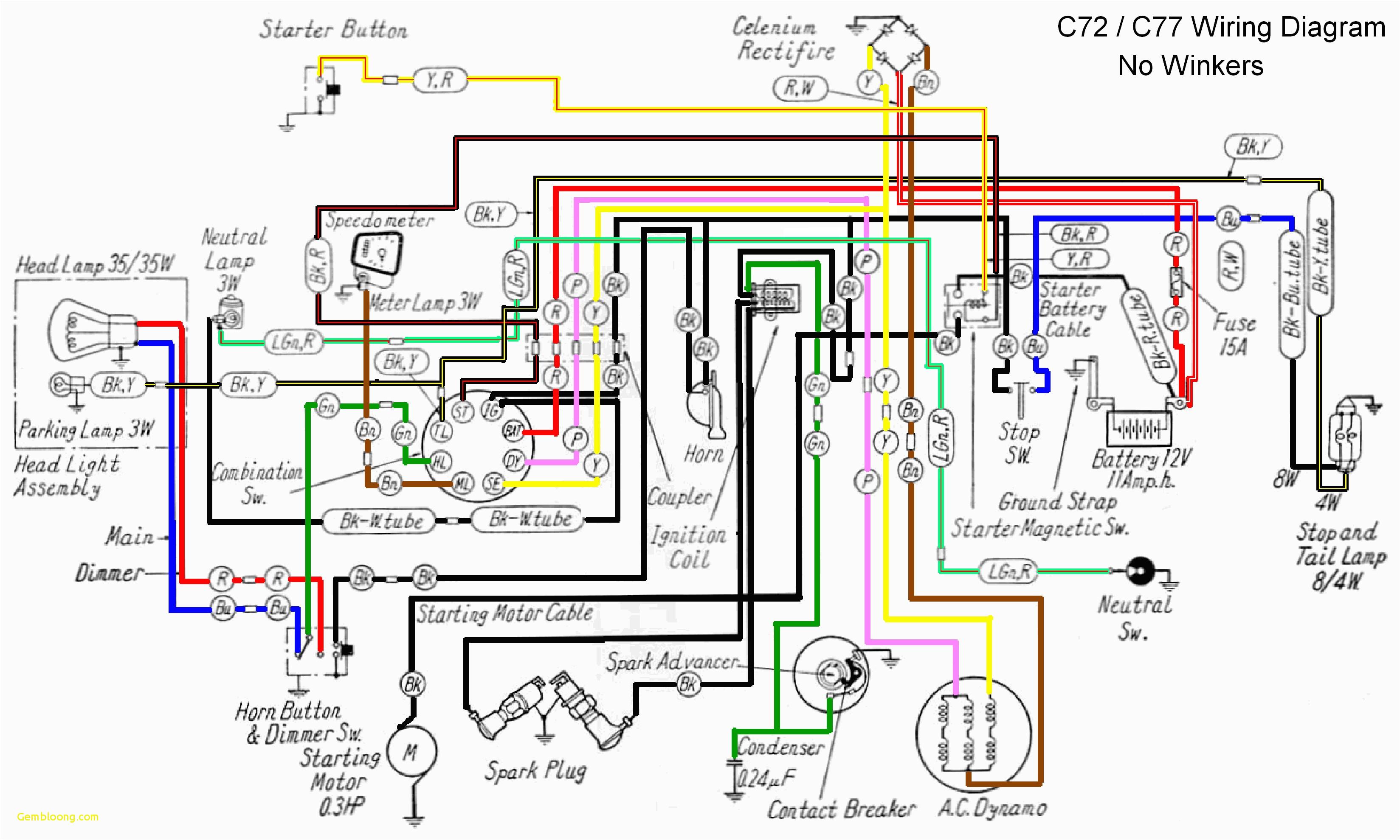 Motorcycle Wiring Diagrams Honda Motorcycle Wiring Wiring Diagram List