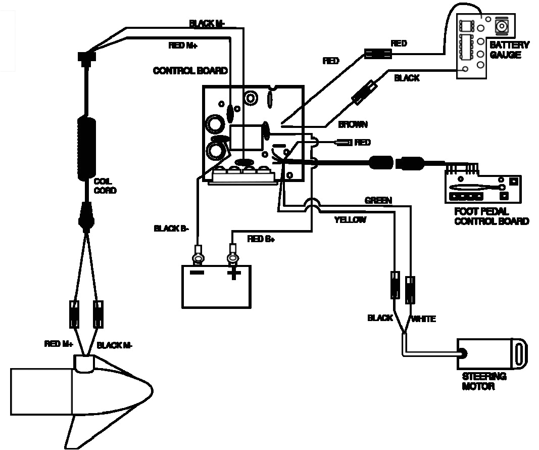motorguide 24v wiring diagram foot pedal free download electronic throttle pedal wiring diagrams motorguide 24v wiring