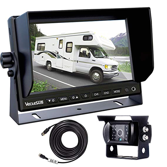 backup camera for trucks two installation methods no interference no delay 7 quot