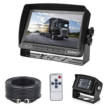 backup camera system kit for rv van camper box truck ip69 waterproof 175ao wide view