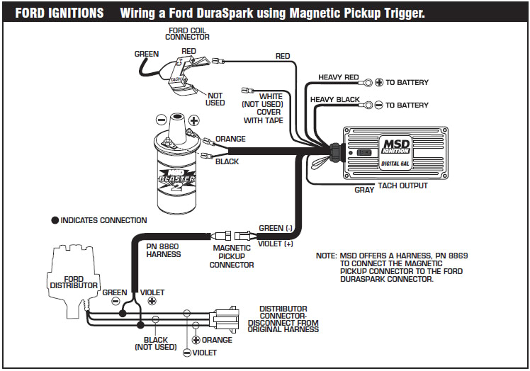 how to install an msd 6a digital ignition module on your 1979 1995 msd 6a tach wiring